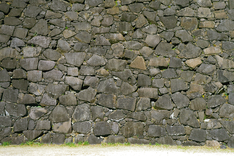江戸城の石垣 - 滋賀区